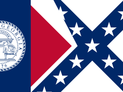 Flag Of The  State Of  Georgia   2 8 1 9 5 6   2 0 0 1  2 9
