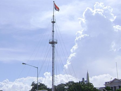 Flag Post At Fort St. George, The Tallest In India