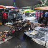 Flea Market At Lorong Kulit