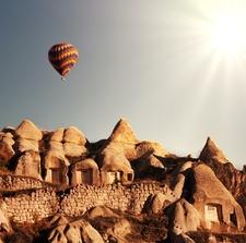 Flight Over Cappadocia