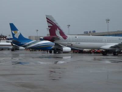 Flights Parked Calicut Airport