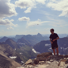 Flinsch Peak - Glacier - USA