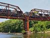 Train Over Flint River