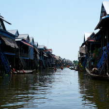 Floating Village Of Konpong Phluk