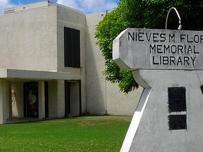 Flores Memorial Library In Hagatna