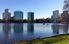 FL Orlando - Lake Eola - Lake Eola Park