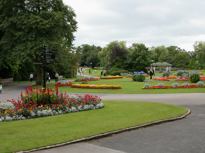 Flower Beds, Valley Gardens