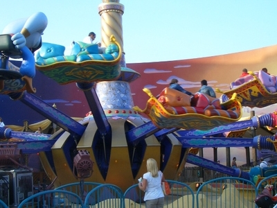 Flying Carpets Over Agrabah Attraction