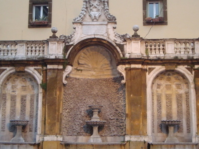 Fontaine De  Piazza  San  Pietro De  Frascati