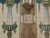 Tiles On A Fountain In Travessera De Gràcia