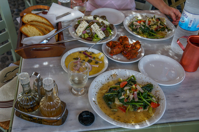 Santorini Food Tour with eBikes Photos