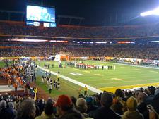 Football Match In Orange Bowl