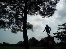 Football Statue Kol Maidan