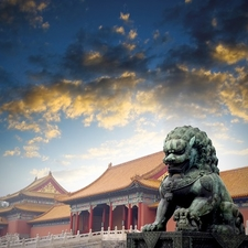 Forbidden City Lion