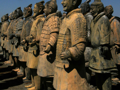 Full-Scale Statues At Forbidden Gardens