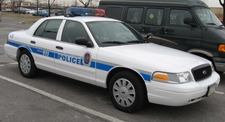Prince George's County Police Marked Cruiser