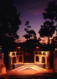 Sunset Over The 1994 Forest Theater