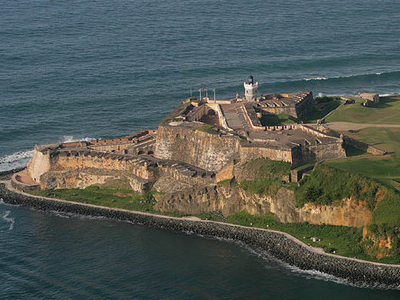 Fort El Morro  San Juan  Puerto Rico