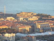 Fortezza Del Priamar Dalle Alture Savonesi
