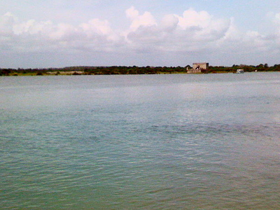Fort Matanzas In The Distance