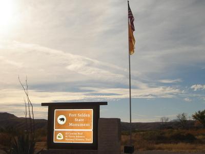 Fort Selden State Monument Entrance