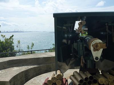 Fort Siloso QF 12 Pounder 12 Cwt Gun
