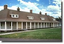 Fort Yellowstone Troop Barracks - USA