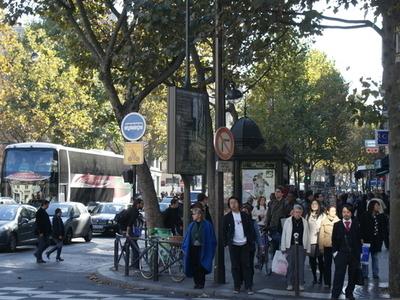 Boulevard Saint Michel Near Musée De Cluny