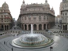 Fountain At Piazza De Ferrari