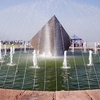 Fountain At Three Gorges Dam Site