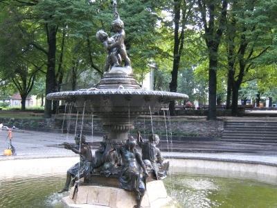 Fountain At Vermane Park