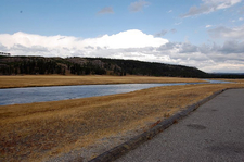 Fountain Flats Freight Road - Yellowstone - Wyoming - USA