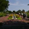 Fountain In The Perennial Garden