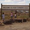 Four Corners U S A Sign