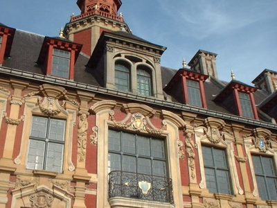 The Facade Of The 'Vieille Bourse'