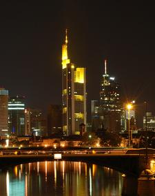 Frankfurt Am Main Nightshot