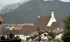 Franziskanerkloster, Schwaz, Tirol, Austria