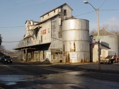 Fredericktown Ohio Grain Elevator