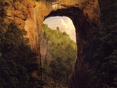 Frederic  Edwin  Church The  Natural  Bridge