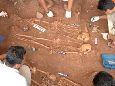Fredrick Hendrick Bastion Archaeological Excavation Site