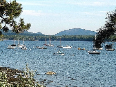 Frenchman's Bay In Acadia National Park ME