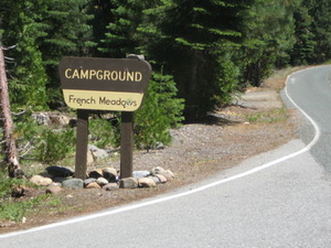 Tahoe French Meadows Campground