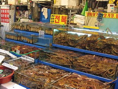 Fresh Crabs At Seoul-Noryangjin Fish Market