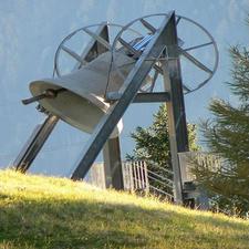 Friedensglocke In Mösern Tyrol Austria