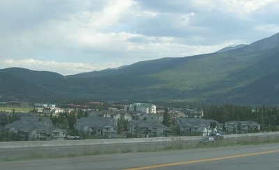 View Of Frisco From The Highway Going South