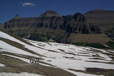 From Logan Pass Visitor Center - Glacier NP