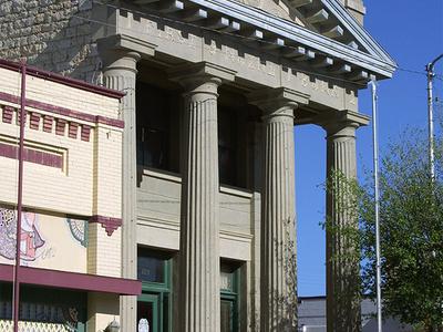 Ft Stockton Old Bank