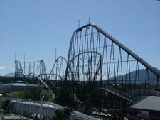 Fujiyama Rollercoaster
