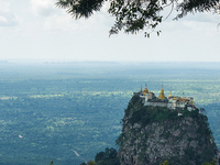 Full Day Excursion To Sale And Mount Popa From Hotel Inside Bagan City Only