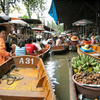 Full Day Floating Market And Rose Garden